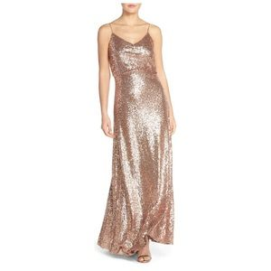 Jenny Yoo Jules Gold Gown